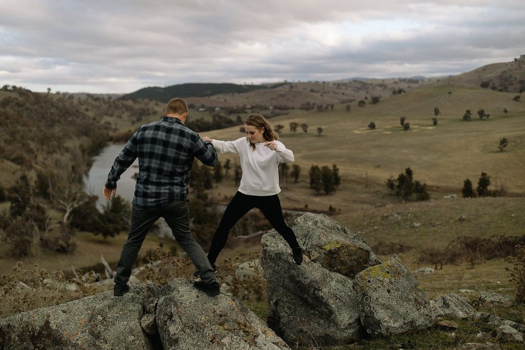 Canberra Wedding Photographer farm engagement
